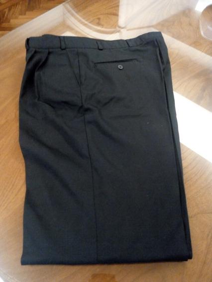 Pantalon De Vestir Azul Oscuro Rems Talle 46