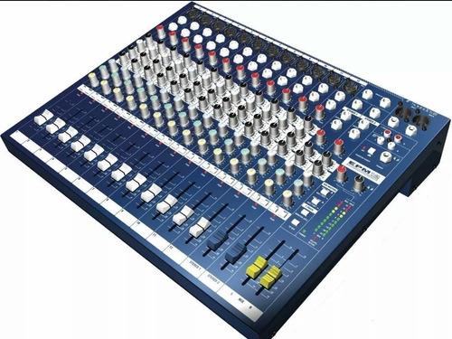Imagen 1 de 3 de Soundcraft Epm12 Consola 16 Canales 12 Mono 2 Estereo