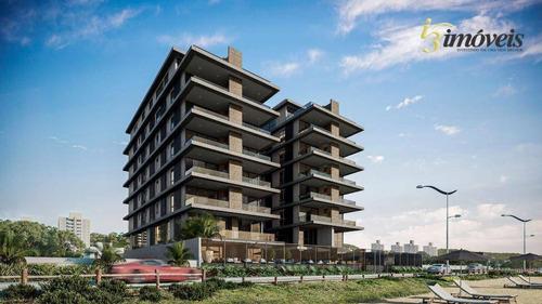 Brava Villi Soul Residence - Cobertura Duplex Frente Mar Com 4 Suítes Sendo 1 Master Com Hidro, 4 Vagas De Garagem, Piscina Na Praia Brava Em Itajaí - Co0042