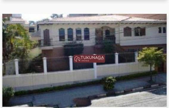 Lindo Sobrado Com 4 Dormitórios Para Alugar, 350 M² Por R$ 5.000/mês - Jardim França - Zona Norte - São Paulo/sp - So0742