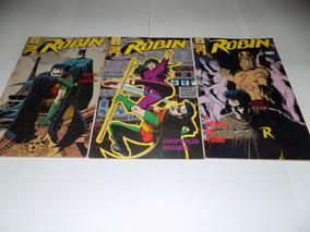 Gibi Robin Mini Serie Em 3 Ediçoes