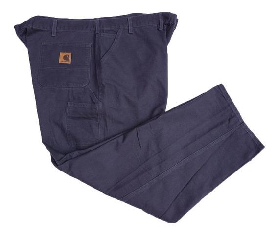 Pantalon De Trabajo Carhartt 48 X 32 Tela Tipo Lona Gruesa