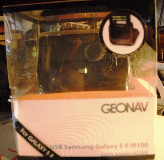 Desktop Dock Para Samsung Geonav - S2 E Outros Com Hdmi