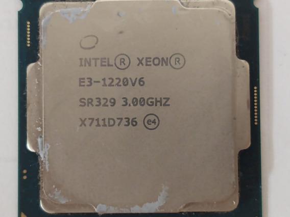 Processador Xeon E3-1220 V6 Para Servidores