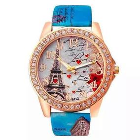Relógio Feminino Luxo Paris Frete Grátis (pronta Entrega)