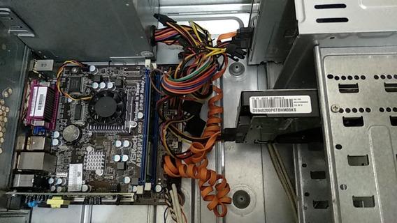 Computador Usado - Ad525pv3 - Intel Atom D525 - 2 Gb Ram