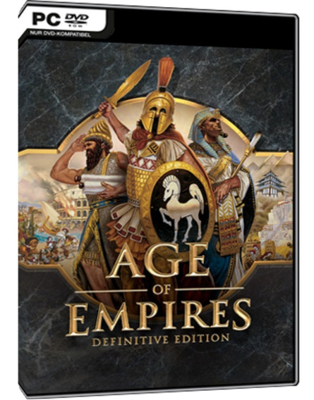 Age Of Empires Definitive Edition - Pc Dvd - Frete 8 Reais