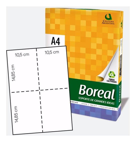 Papel A4 Troquelado - Hojas Micropuntilladas En Cruz