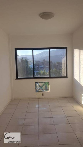 Sala À Venda, 21 M² Por R$ 180.000 - Recreio Dos Bandeirantes - Rio De Janeiro/rj - Sa0111