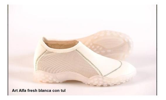 Zapatillas Alfa Fresh Con Y Sin Tul - Talles 41 42 43 44