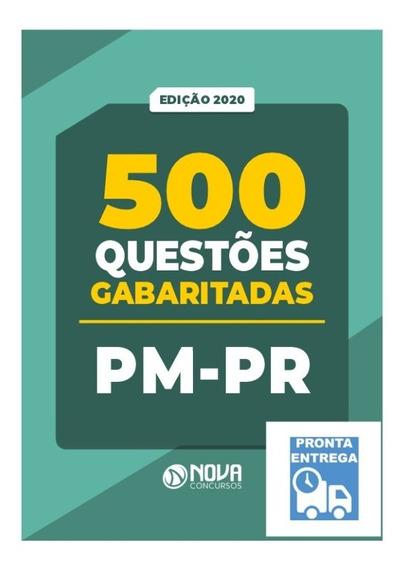 Apostila Caderno De 500 Questões Pm-pr 2020 Livro