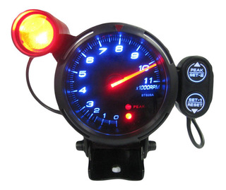 Kit De Tacómetro 3.5 In Con Luz Led Azul 11000 Rpm