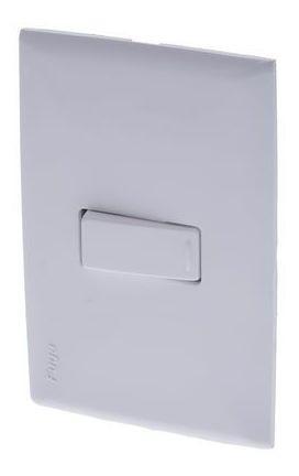 Interruptor Sencillo Fuga Blanco Ciles