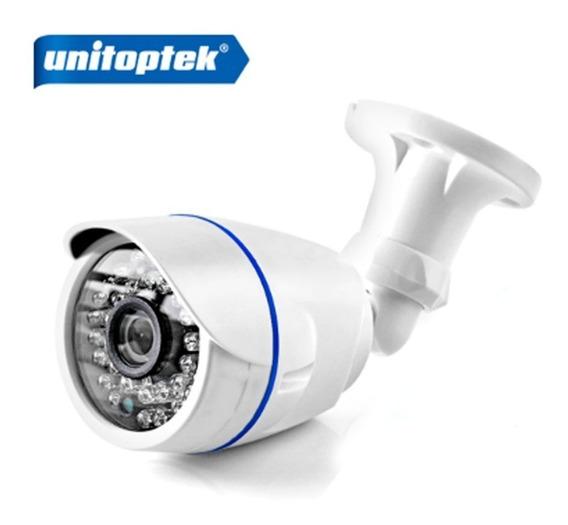 Câmera Ip Wireless Unitoptek Hd 720 , Prova D´agua+fonte 12v