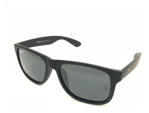 Oculos De Sol Masculino Justin Ray Ban Polarizado Rb4165 Top