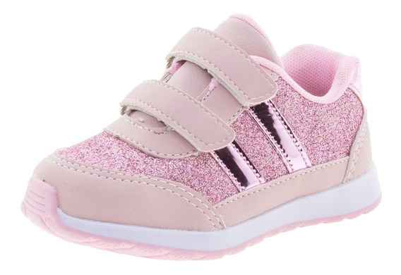 Tênis Infantil Feminino Rose Slink - J3001