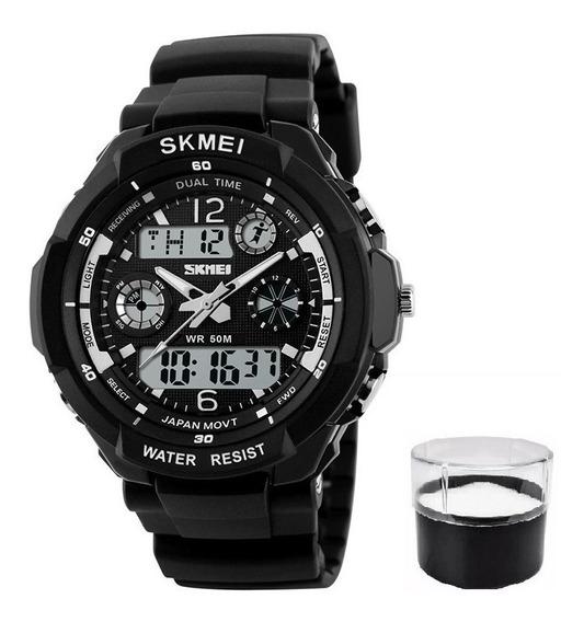 Relógio Original Modelo Top Mega Desconto Lançamento Full