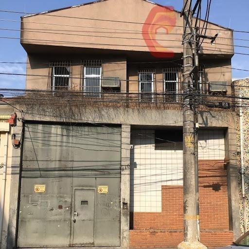 Galpão Comercial Para Venda E Locação, Belenzinho, São Paulo. - Ga0029