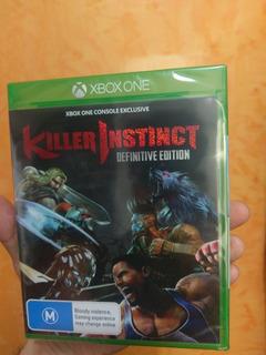 Xbox One Killer Instict Definitive Edition + Killer 1 Y 2 Nu