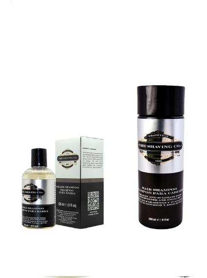 The Shaving Co. Shampoo Para Barba Y Cabello