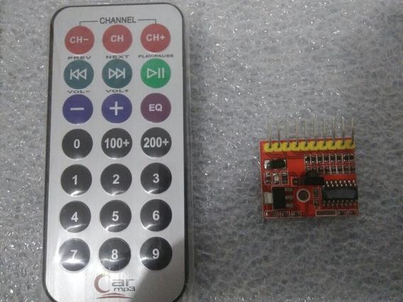 Controle Remoto Kit 8 Canais + Placa Receptor Digital