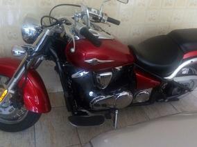 Kawasaki Vulcan 900 Vermelho