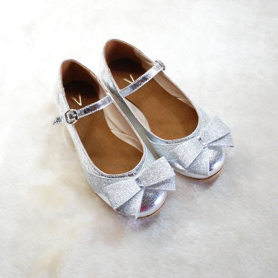 Chatitas/zapatos De Fiesta/comunión Para Nenas/niñas