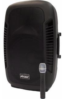 Bafle Potenciado Apogee Bt-215 Activo 150w Bluetooth Mic 6pa