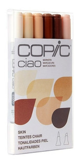 Copic Ciao Skin Tones 6 Set Marcadores De Arte Tonos Piel