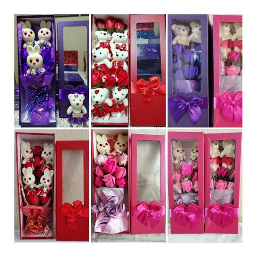 Ramos Caja De Rosas Perfumados Dia De La Madre Delivery
