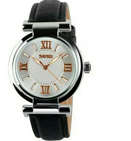 Relógio Feminino Analógico Skmei 9075 Original.