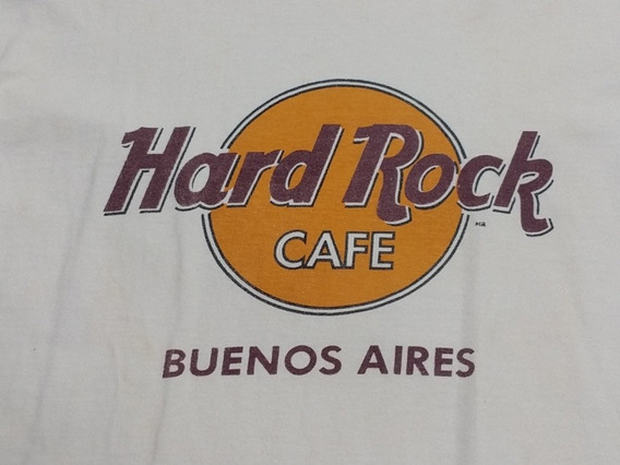 Remera Hard Rock Café Buenos Aires Talle L Adulto Original
