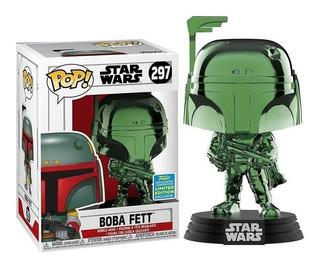 Funko Pop 297 Star Wars: Boba Fett (gr) (chrexclccon)