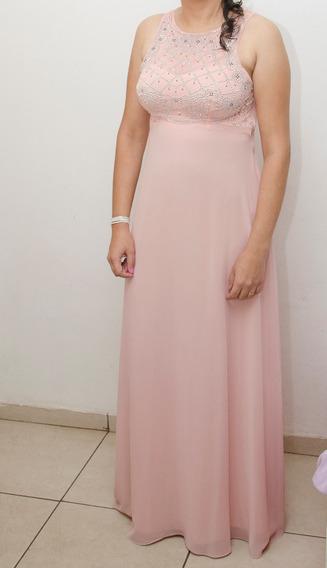 Vestido De Luxo Festa Madrinha Usado 1 Vez