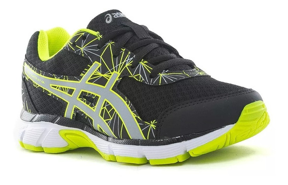 Asics Zapatillas Nene Gel Light Play 4 Gs Negro / Verde