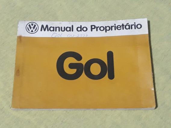 Manual Do Proprietario Gol 1984 Volkswagen Antigo