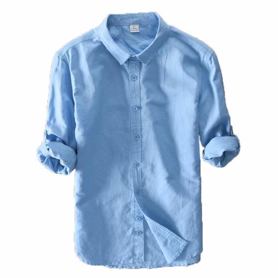 Camisa Social Masculina Em Cores Lançamento