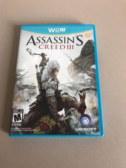 Wii U Jogo Assassins Creed 3
