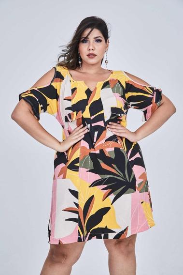 Vestido Plus Size Moda Feminina Tendência 2020 G1 Ao G5