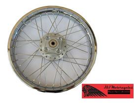 Roda Traseira Completa + Rolamentos - Cg 125 Titan 99 - 4 Mm