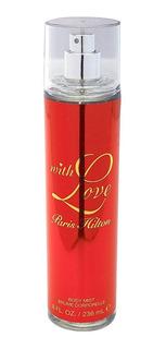 Body Mist With Love Para Mujer De Paris Hilton 236ml