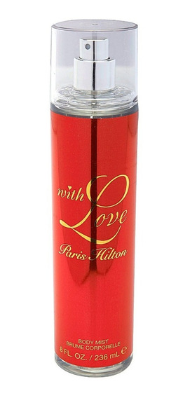 Body Mist With Love Para Mujer De Paris Hilton 236ml