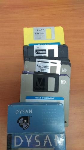 Disquetes 3.5 Pulgadas 1.44mb Diskette Floppy (caja 10 Unid)
