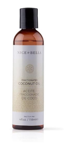 Nice & Bella Aceite Fraccionado De Coco Masajes-aromaterapia