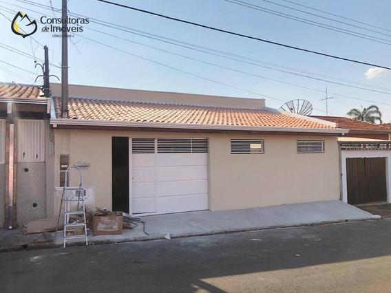 Casa Com 3 Dormitórios À Venda, 174 M² Por R$ 399.000,00 - Vila Monte Alegre - Paulínia/sp - Ca1046