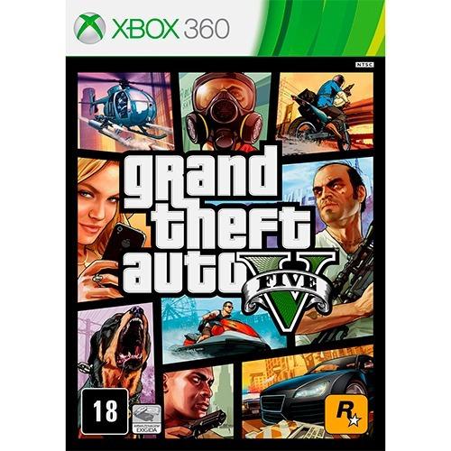 Gta 5 /mídia Física - Xbox360 - (lacrado/zero)