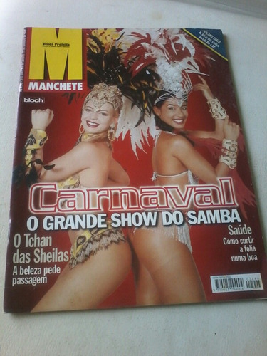 Manchete Carnaval Sheila Carvalho Melo Ditadura Rafael Ilha