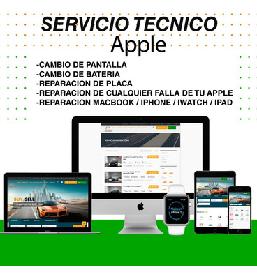 Servicio Tecnico Apple iMac Macbook iPad iPod iPhone Iwatch