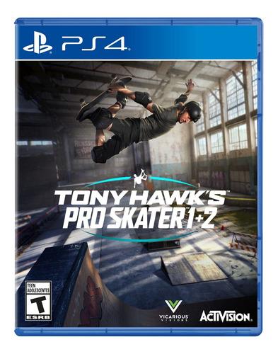 Imagen 1 de 7 de Tony Hawk Pro Skater 1 + 2 Ps4 Formato Físico Original