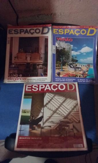 Revista Espaço D 03 Und. Oferta 20 Reais.